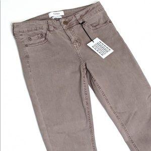PISTOLA WoodRose Ankle Zip Skinny Jeans size 27